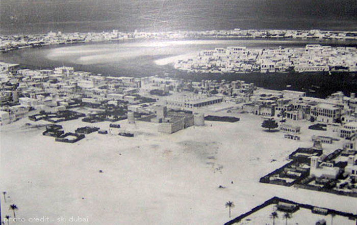 A foot journey of old Dubai