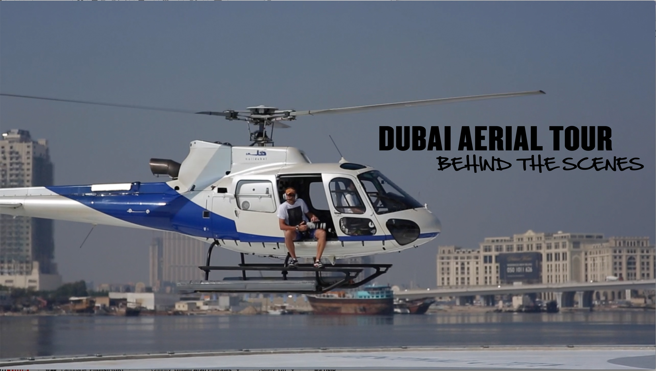 Dubai Aerial Tour Book – launched