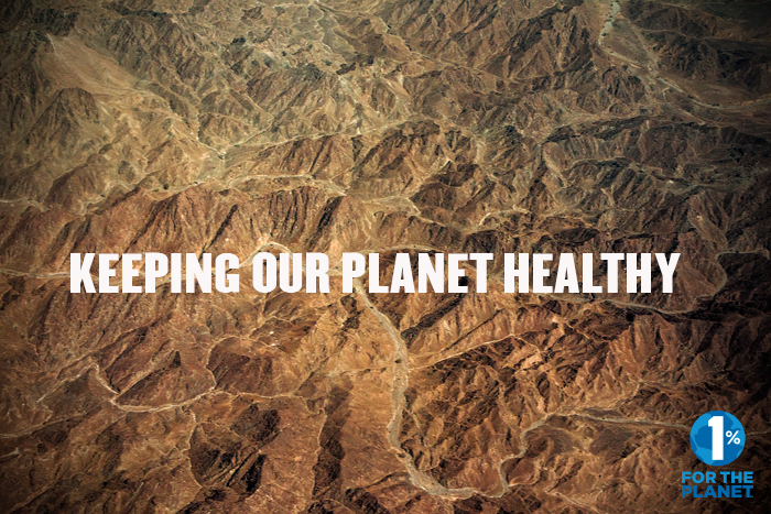 1% for the Planet. Our efforts continue…