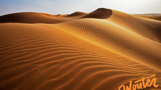 Project Pause… The Empty Quarter – Part 2