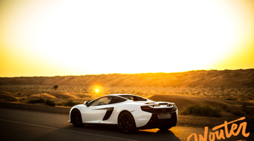 Shooting the McLaren Al Sahara 79
