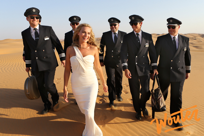 Wouter Kingma Blog for Brittish Airways with Margot Robbie in Abu Dhabi 01