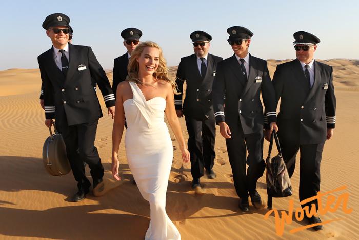 Wouter Kingma Blog for Brittish Airways with Margot Robbie in Abu Dhabi 01