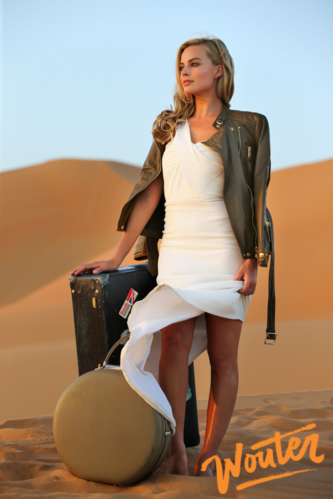 Wouter Kingma Blog for Brittish Airways with Margot Robbie in Abu Dhabi 03
