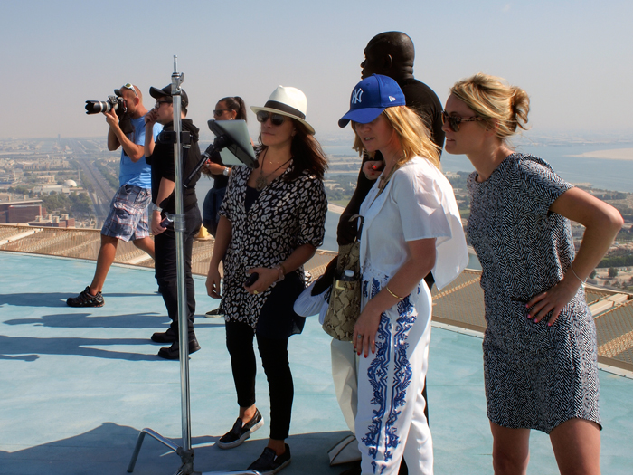 Wouter Kingma Blog for Brittish Airways with Orlando Bloom in Abu Dhabi 03