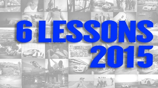 My six lessons from 2015