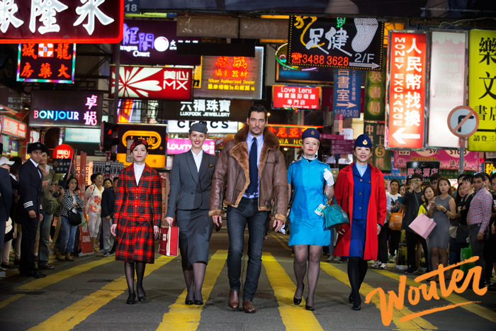 Wouter Kingma Blog for British Airways and David Gandy in Hong Kong 1