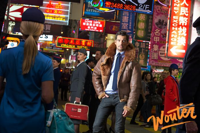 Wouter Kingma Blog for British Airways and David Gandy in Hong Kong 2