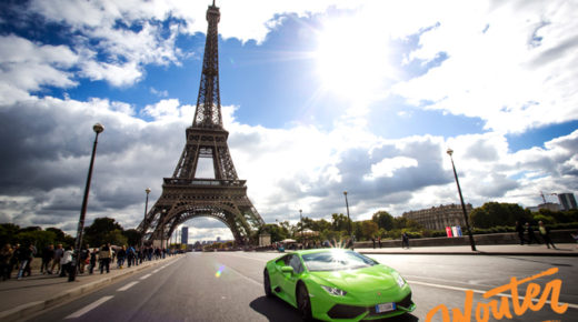 Lambo's in Paris