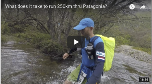 250km through Patagonia